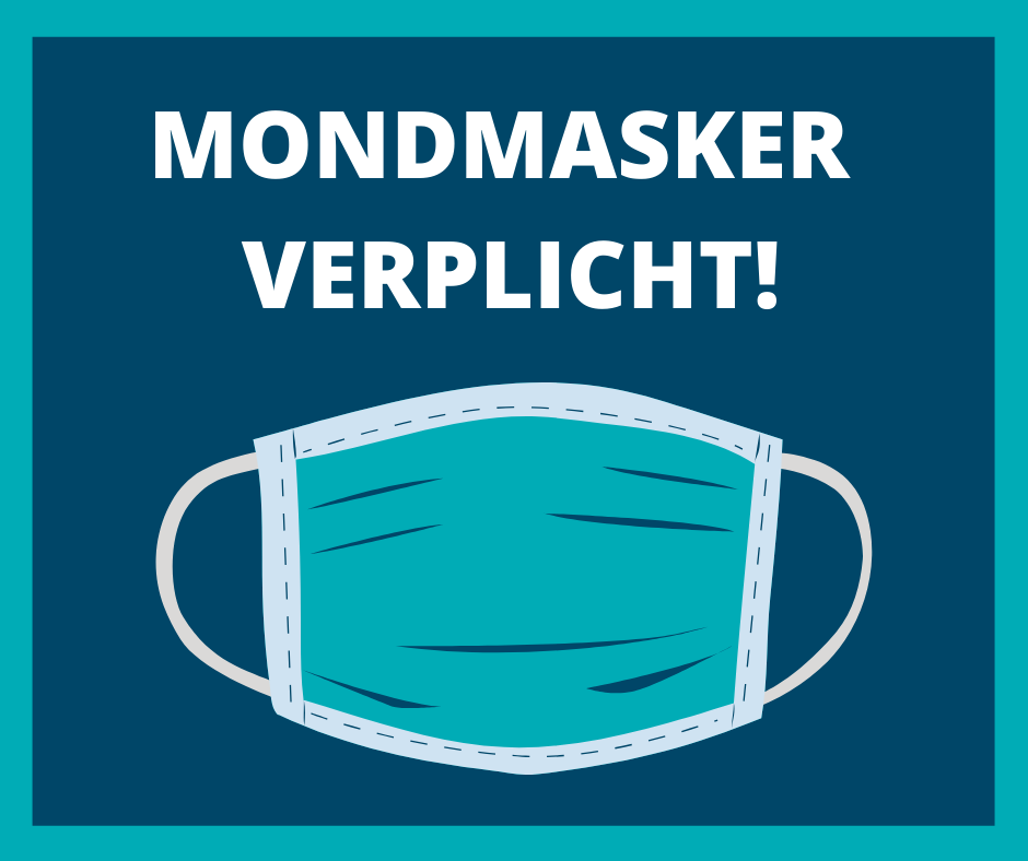 Mondmaskers verplicht - Global Wineries